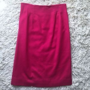 100% pure wool skirt pink by Michele size 13/14